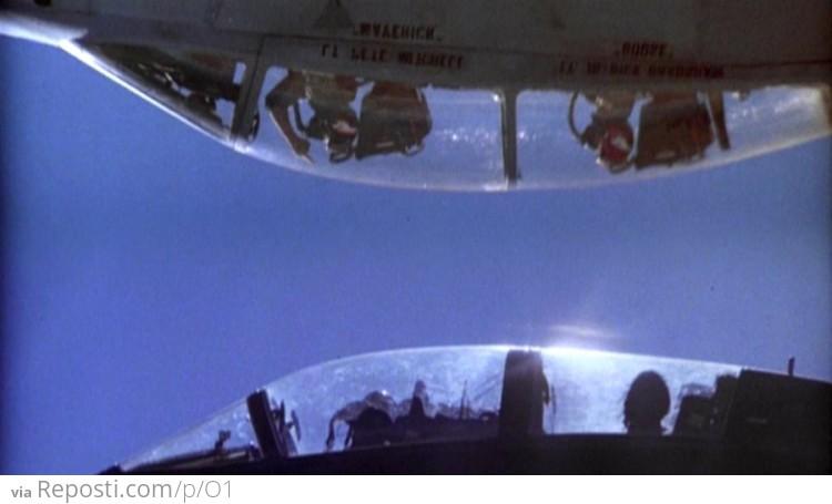 Top Gun Flips The Bird