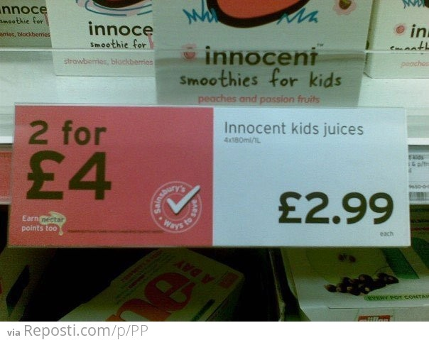 Innocent Kids Juices