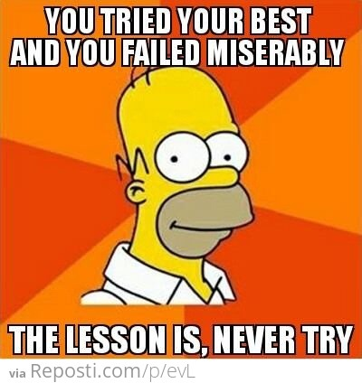 Advice From Homer