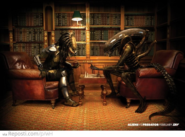 Alien vs. Predator Chess